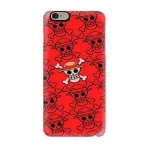 One Piece Flag Pattern 0008 Custom Case Hardcase 3D iPhone 6/6s