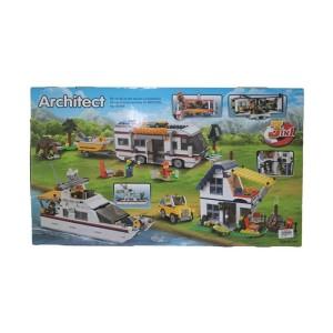 Decool 3117 Architect 3 IN 1 Bricks Toys [PZ 1172]