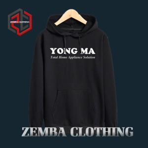 Hoodie Young MA Appliance Selotion - HItam - ZEMBA CLOTHING