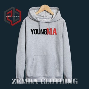 Hoodie Young MA 1- Misty - ZEMBA CLOTHING