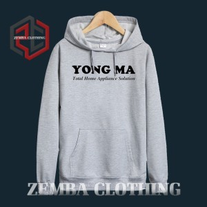 Hoodie Young MA Appliance Selotion - Misty - ZEMBA CLOTHING