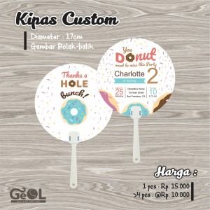 Kipas Custom | Souvenir Kipas | Party