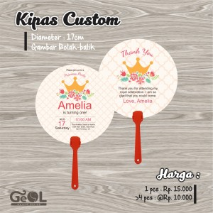 Kipas Custom   Souvenir Kipas   Party