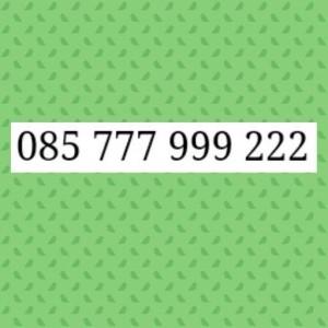 Nomor Cantik Im3 Seri Triple AAA Perdana Cantik 085 777 999 222 $L7_84