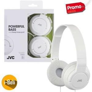 Original JVC HA-S180 White Seamless Headphones - Garansi Resmi 2 Tahun
