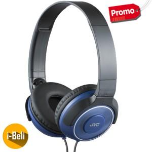 Original JVC HA-S220 Blue Superior Headphones - Garansi Resmi 2 Tahun