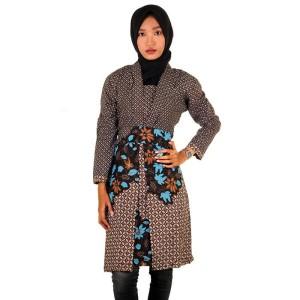 Blouse Batik Panjang|Tunik Batik I Blouse Batik Wanita Sania - Warna 1