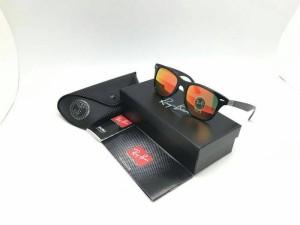kacamata pria RAYBAN 4195 (fire black)
