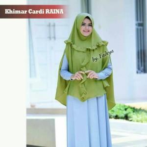 Jilbab Terbaru, Khimar Cardi RAINA by FADEYA