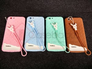 Fabitoo Cute Softcase Jelly Case Silicon Premium for OPPO F1s A59