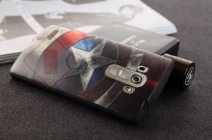 Original 3D Relief Superhero Soft Case Cover Casing LG G4 Beat - G4s