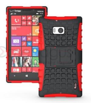 Hybrid Armor Hard Soft Case Premium Microsoft Lumia 930 - 929 Icon