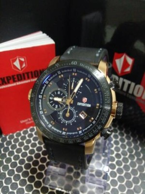 Expedition E6372 Black Rose Gold Man