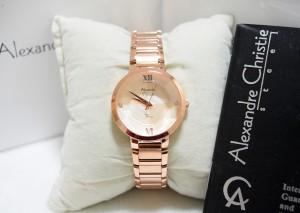 Alexandre Christie AC 2616 Rose Gold Ladies