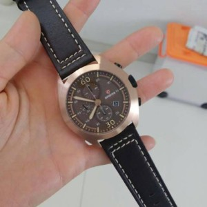 Expedition E6665 Black Rose Gold Man