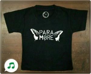 Kaos Band Anak (Paramore)