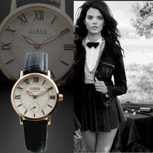 Guess Classic XII Ladies Hitam
