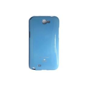 Mercury Color Jelly Case Samsung Galaxy Note 2 - Biru