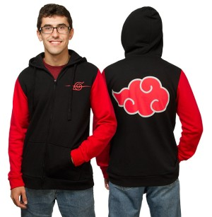 Jaket / Zipper / Hoodie / Sweater Naruto - Combinasi