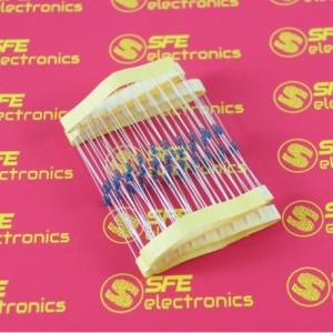 56 Ohm 1/4Watt Metal Film Resistor (10pcs)