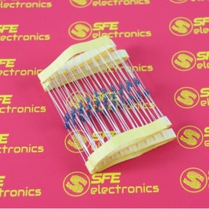56K Ohm 1/4Watt Metal Film Resistor (10pcs)