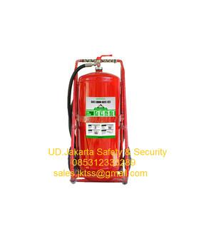 ALAT PEMADAM CLEAN AGENT GAS HCFC-123 MERDEKA 50 KG TROLLEY MURAH