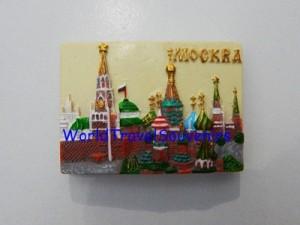 SOUVENIRS RUSSIA BERUPA MAGNET KULKAS