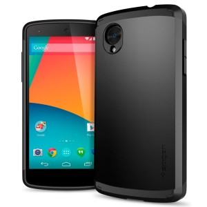 LG Nexus 5 Casing Hard Soft Cover SPIGEN SLIM ARMOR casing bumper