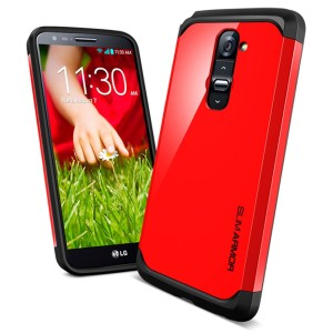 LG G2 Case Casing Hard Soft Cover SPIGEN SLIM ARMOR casing bumper