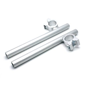 2727-STANG JEPIT HOGO 33MM SILVER - VIXION