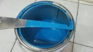 Rubber Paint Literan Intense Teal - Plastidip Alternative