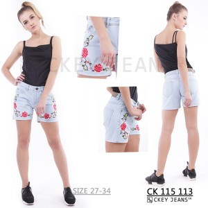 Hotpants / Short / Celana Jeans Pendek CK 115 113 S