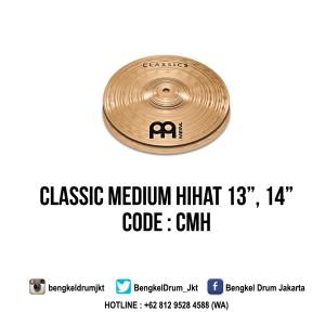 """Meinl Cymbal Classic Medium HiHat 13"""""""