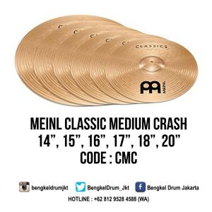 "Meinl Cymbal Classic Medium Crash 16"""