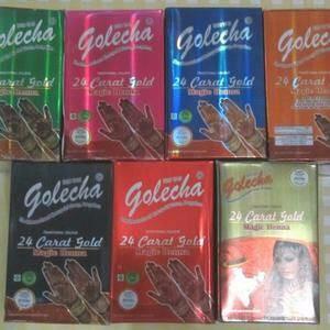 ASTER Henna golecha 24 karat ( 24 cart gold magic henna )