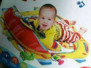 HAPPY BABY MAT TOY GADGETS , MELODIES MUSIC/alas bayi bermain/EDUKASI