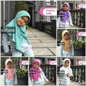 Hijab Jilbab Anak LUNA