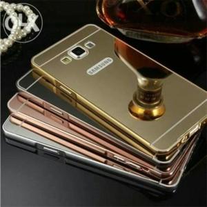 Bumper Mirror Case Samsung A3 2015 / Aluminium / Mirror Diskon