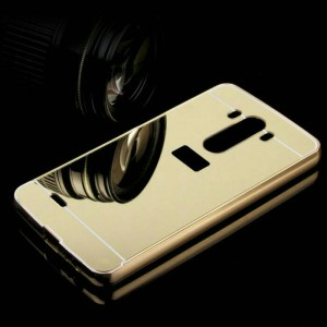 Bumper Mirror LG G4 / Backcase / Aluminium / Slide Diskon