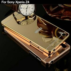 Bumper Mirror Sony Xperia Z4 / Aluminium / Slide / back Limited