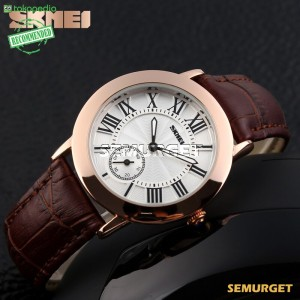 Promo Murah Mortima Fashion Casual Ladies Leather Strap Watch - 1083CL