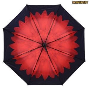 Promo Murah Payung Motif Bunga 3D - Merah
