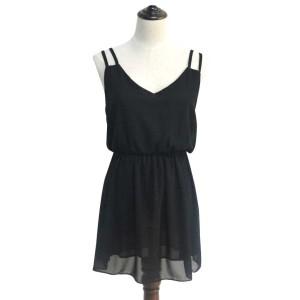 Promo Murah Dress Wanita Casual Summer Style - L - Hitam