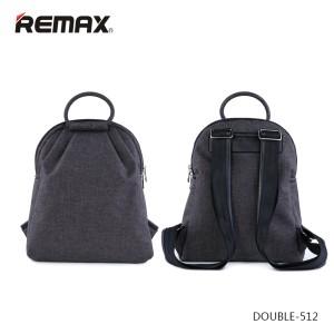Promo Murah Remax Fashion Notebook Bags - Double 512 - Abu-Abu