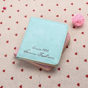 Promo Murah Soft Matte Surface Retro Women Card Wallet / Dompet - Baby