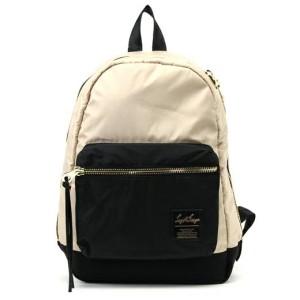 Promo Murah Tas Ransel Legato Largo Backpack - Beige Hitam - L