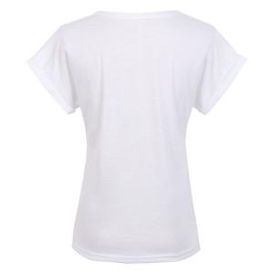 Promo Murah Kaos Katun Wanita Super Logo Short Sleeve O Neck / T-Shirt