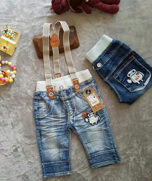 celana jeans baymax baju anak import