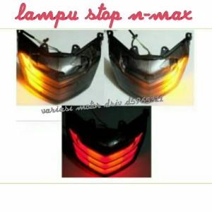 stoplamp n-max,lampu stop stob n-max,lampu belakang led n-max jpa
