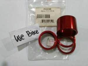 CHRISKING SPACER 1-1/8 STANDART RED